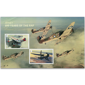 2018 Jersey RAF 100th Anniversary M/S