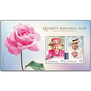 2018 Australia Queen's Birthday 2v M/S
