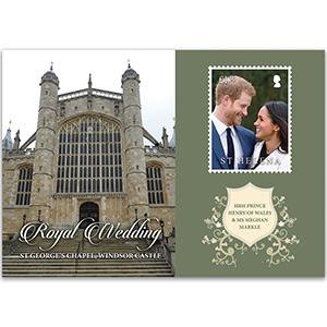 2018 St Helena Royal Wedding 1v M/S
