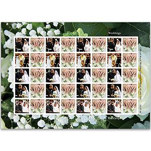 Gibraltar Royal Wedding Limited Edition Sheet