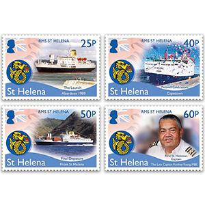 St Helena RMS St.Helena 4v 10/2/18