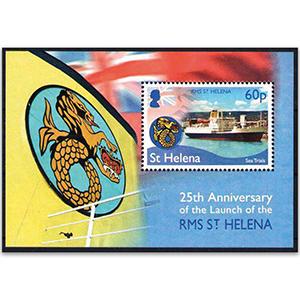 St Helena RMS St.Helena 1v M/S 10/2/18