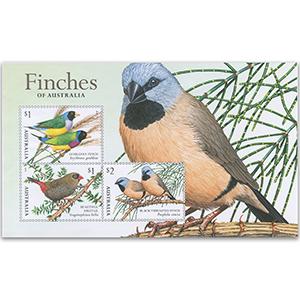2018 Australia Finches Pt. 2 3v M/S