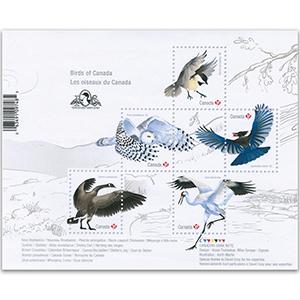 2018 Birds of Canada M/S
