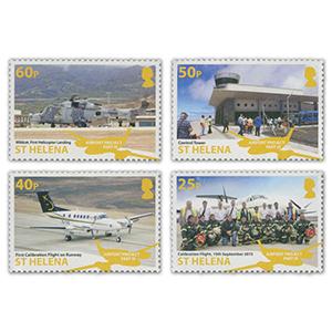 2018 St Helena Airports III 4v