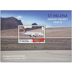 2018 St Helena Airports III 1v M/S