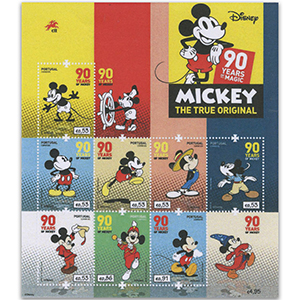 2018 Portugal Mickey Mouse 8v Shlt