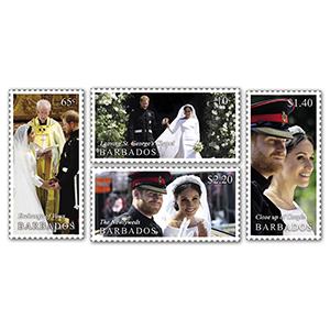 2018 Barbados Royal Wedding 4v Set