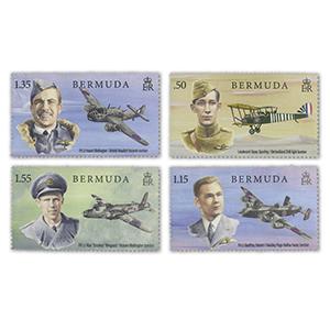 2018 Bermuda RAF 100th 4v Set