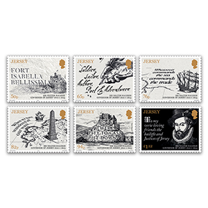 2019 Jersey Sir Walter Raleigh 6v Set