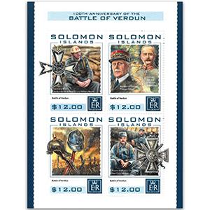2016 Solomon Islands Battle of Verdun 4v Shlt
