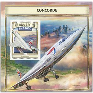 2016 Sierra Leone Concorde M/S