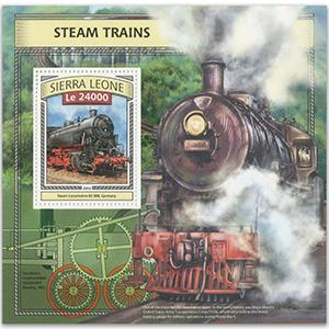 2016 Sierra Leone Steam Trains M/S