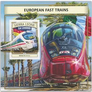 2016 Sierra Leone European Fast Trains M/S