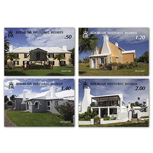 2019 Bermuda Historic Houses 4v