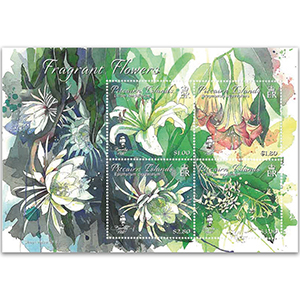 Pitcairn Fragrant Flowers 4v M/S
