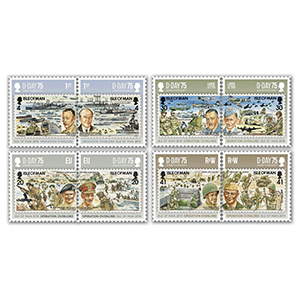 2019 IOM D-Day 75th 8v Set