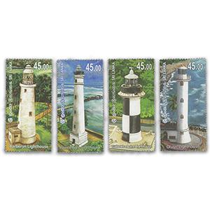 Sri Lanka Lighthouses of Sri Lanka 2018 4v