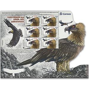 Spain Europa 2019 - Birds 6v Shlt