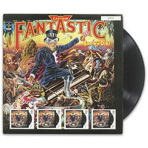 2019 Elton John Captain Fantastic Fan Sheet