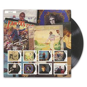 2019 Elton John Album Art Fan Sheet