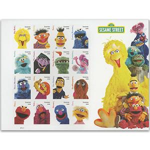 2019 USA Sesame Street 16v S/A Shlt