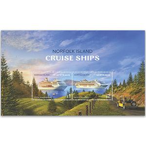 2018 Norfolk Is Cruise Ships 2v M/S