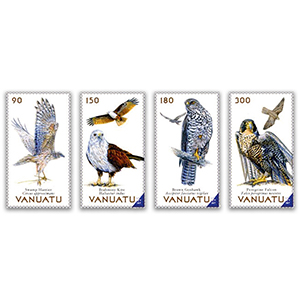 Magnificent Birds of Vanuatu 2019 4v