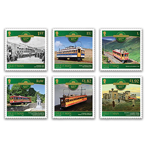 2020 IOM Snaefell Mountain Railway 6v Set