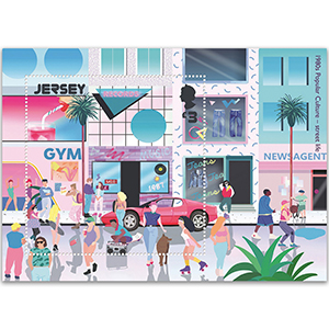 Jersey  2020 Popular Culture Souv. Sheet