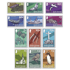 2020 South Georgia Definitives Pt1&2 12v Set