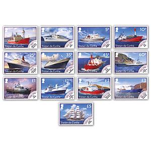 2020 Tristan Mailships Defins 13v Set