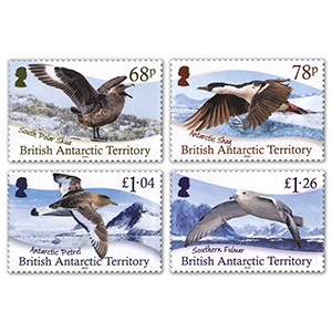 2020 BAT Antarctic Birds 4v Set