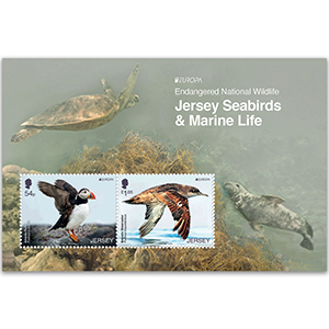 2021 Jersey Endangered National Wildlife 2v M/S