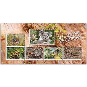 2020 Australia Wildlife Recovery  6v M/S