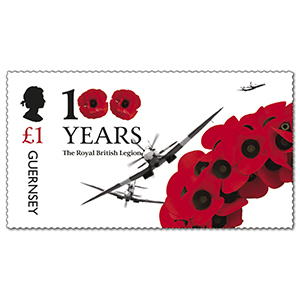 2021 Guernsey 100 Years The Royal British Legion 1v part 1