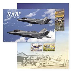 2021 Australia RAAF Centenary 2v m/s