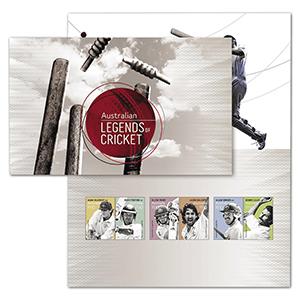 2021 Australia Legends of Cricket 6v Set