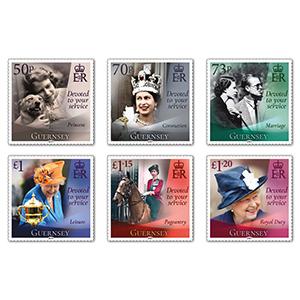 2021 Gibraltar 95th Birthday HM the Queen 6v Set
