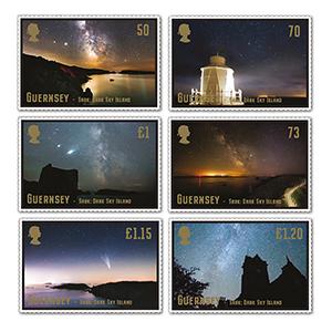 2021 Guernsey Sark Dark Island Skies 6v