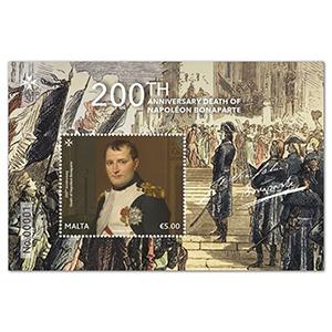 2021 Malta 200th Anniversary Death of Napoleon 1v M/S