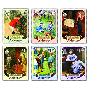 2021 Alderney Secret Garden 6v Set
