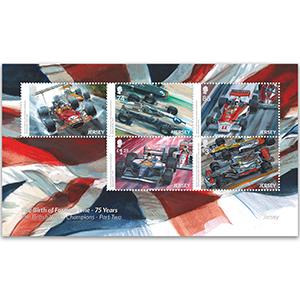 2021 Jersey History F1 Pt.2  5v Souvenir Sheetlet