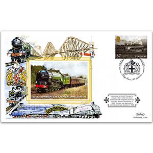 2010 Great British Railways - Tornado - King's Cross Handstamp