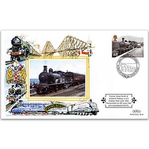 2012 Scottish Locomotives 68p - BR D40