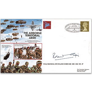 1996 49th Anniversary of the Airborne Territorial Army - Signed by Field Marshal Sir Roland Gibbs