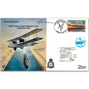 1984 Reformation No. 216 Squadron - Signed by Group Captain G. Howie DSO