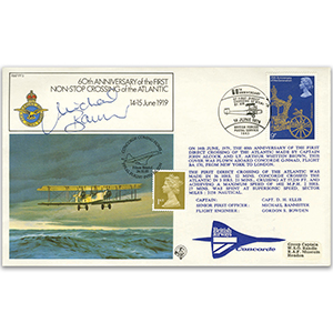 1979 60th Anniversary of First Non - Stop Crossing of the Atlantic - Doubled 2003