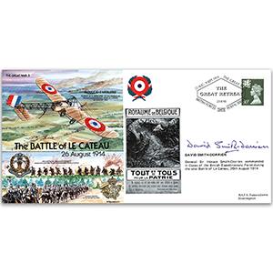1914 Battle of Le Cateau - Signed D. Smith-Dorrien
