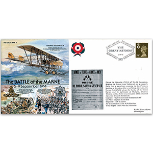1914 Battle of the Marne - Flown